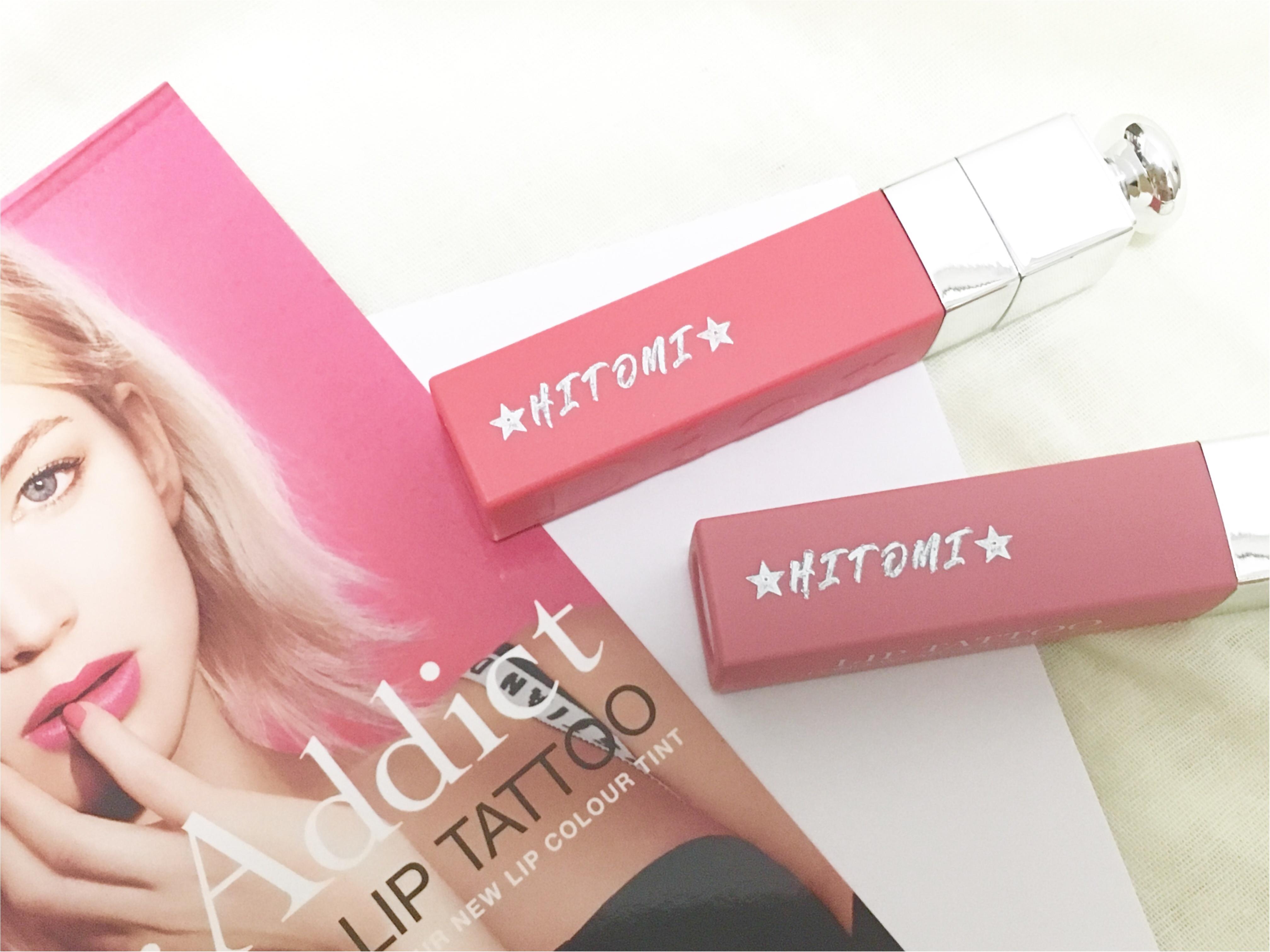 話題のリップが先行発売中❤️10時間耐久⁈【Dior ADDICT】リップタトゥーが超優秀!!_7