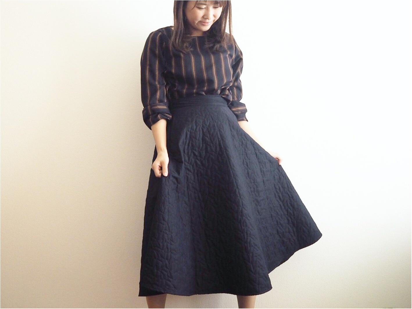 【UNIQLO】『キルトスカート』のシルエットがかわいすぎるんです!♡【JW ANDERSON】_3