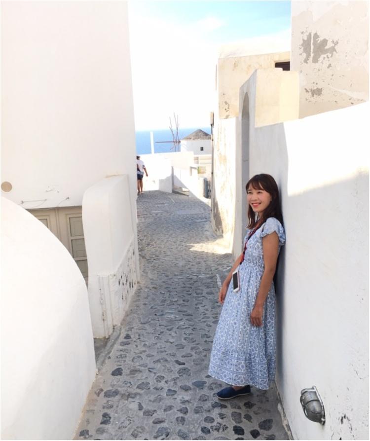 青と白の世界♡憧れのサントリーニ島へ♡_5