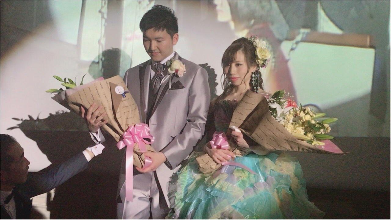 《Happy wedding》around25お呼ばれコーデは華やかにカラードレスにハーフアップで♡式に華を添えましょう!_8
