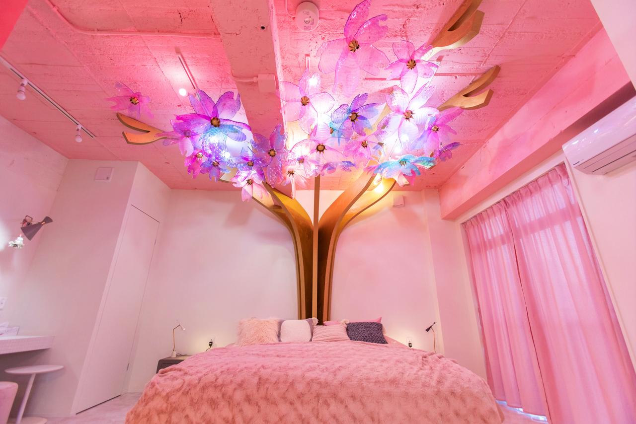 原宿『MOSHI MOSHI ROOMS』の「Kawaii caltural room!! in harajuku」で、お泊り女子会したすぎる件♡【#桜 2019 4】_7