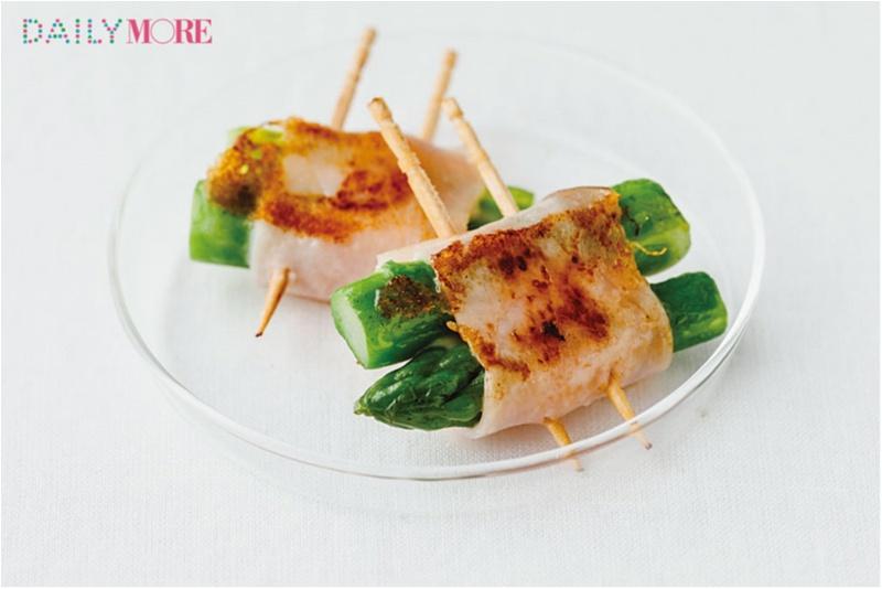 ぱっと簡単にできる! お弁当が華やぐ「グリーン野菜のミニおかず」レシピ♡_1