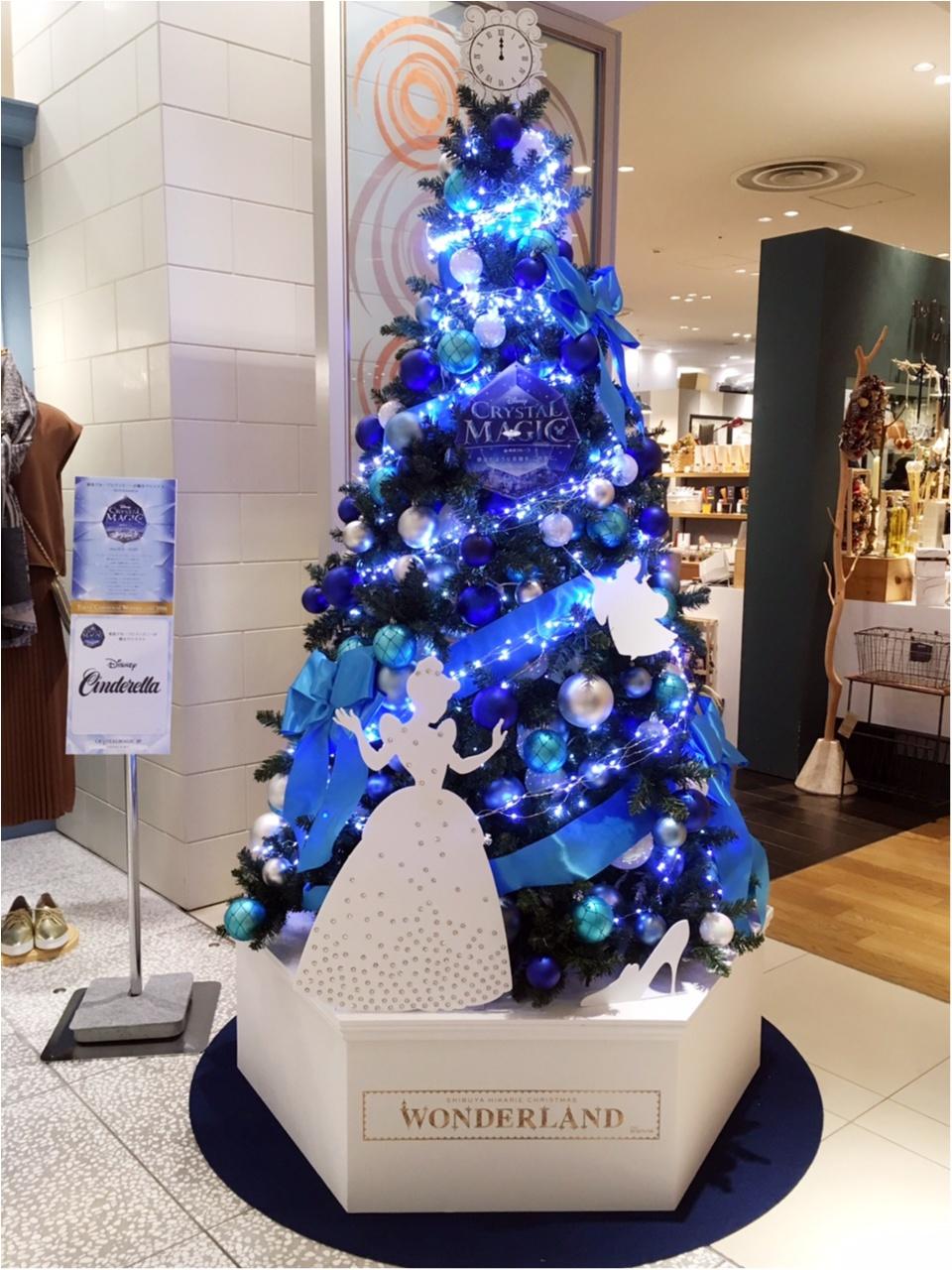 『渋谷ヒカリエ』のクリスマスはディズニープリンセスたちとコラボ♡『ラプンツェル・ツリー』点灯式に行ってきました(﹡´◡`﹡ )♡_8