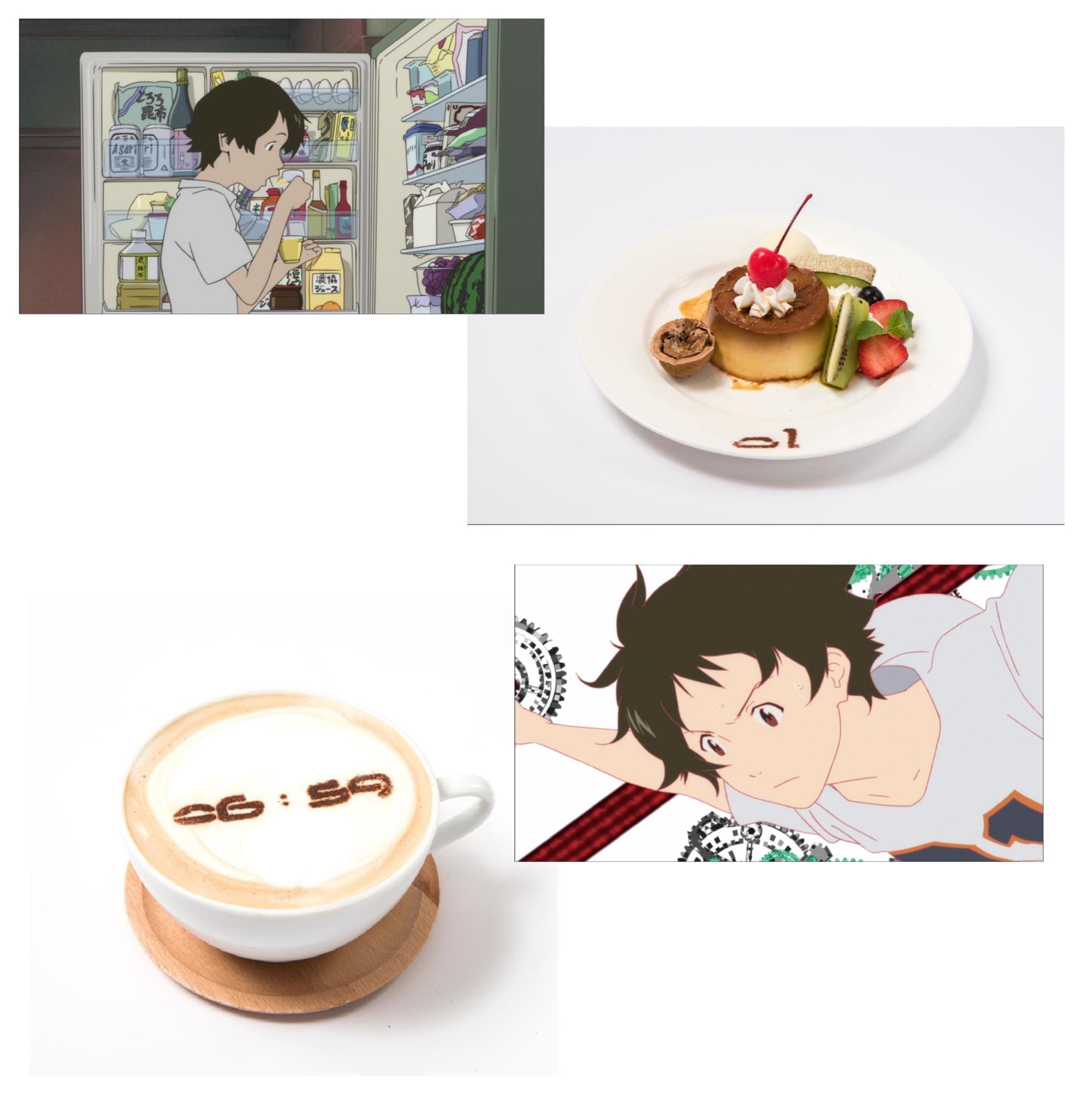 渋谷に期間限定オープン☆ 細田守監督作品が大集合した『時をかける少女カフェ』!_1