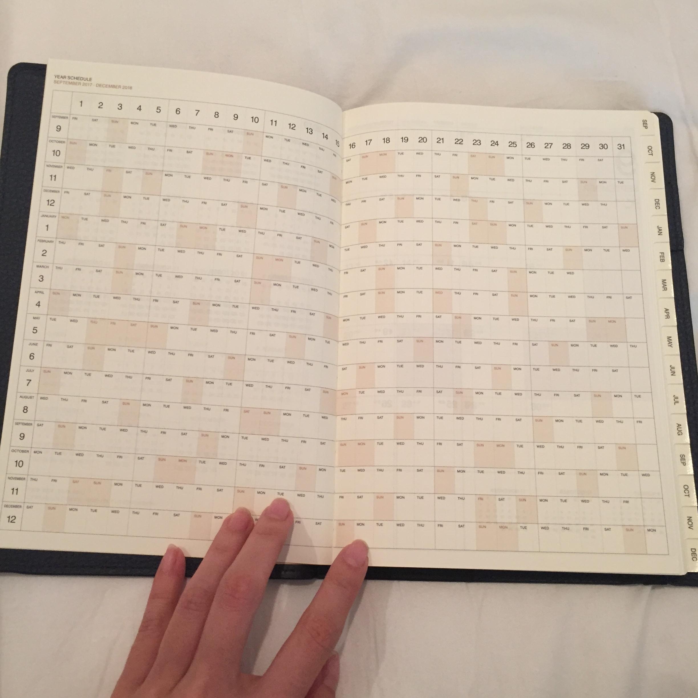 【2018年の手帳購入!!】アナログ派の私が10年以上手放せない手帳がこれ☆_8