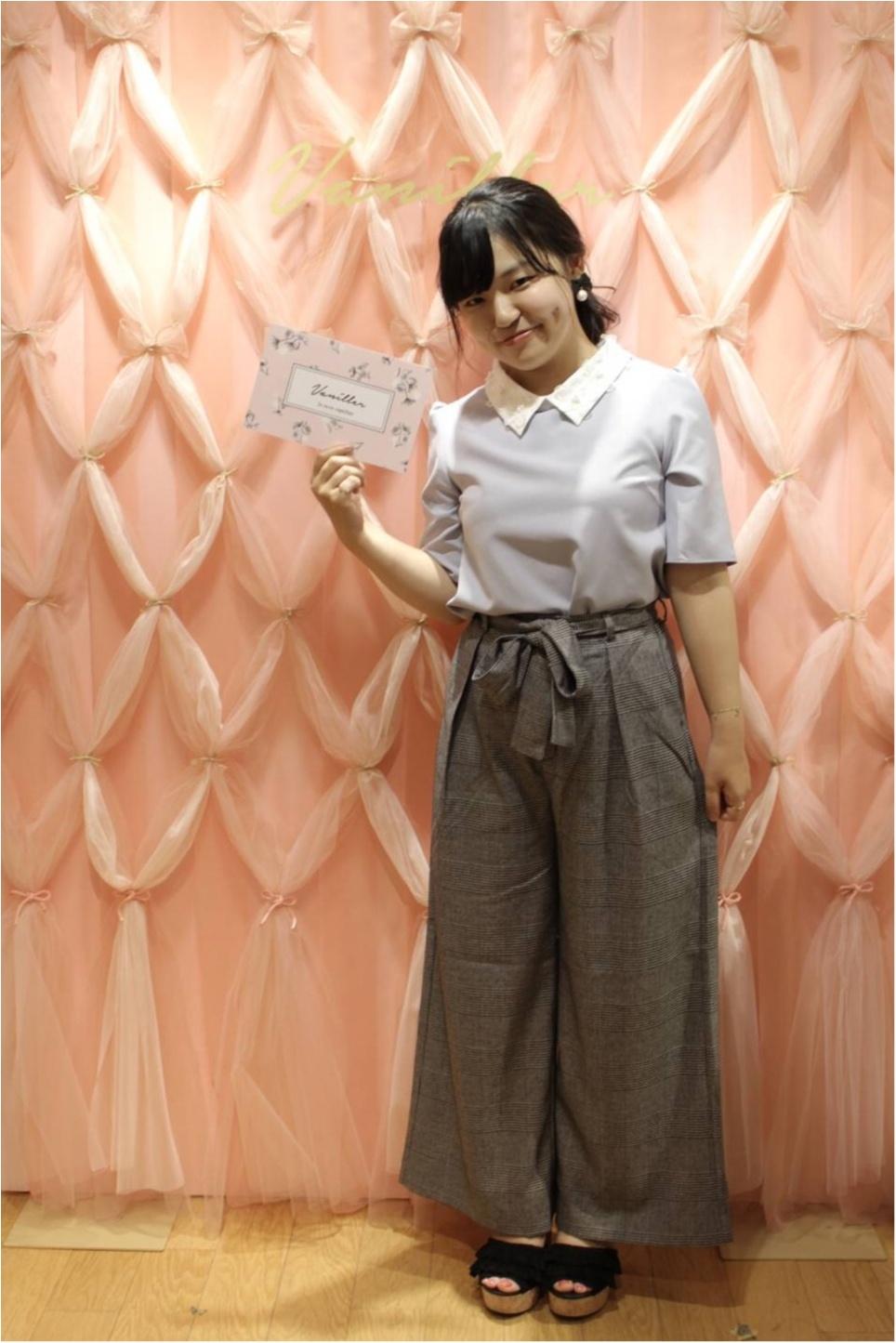152cmが着る!夏服+秋の新作【GU・グレンチェックワイドパンツ】で即秋コーデ!!_3