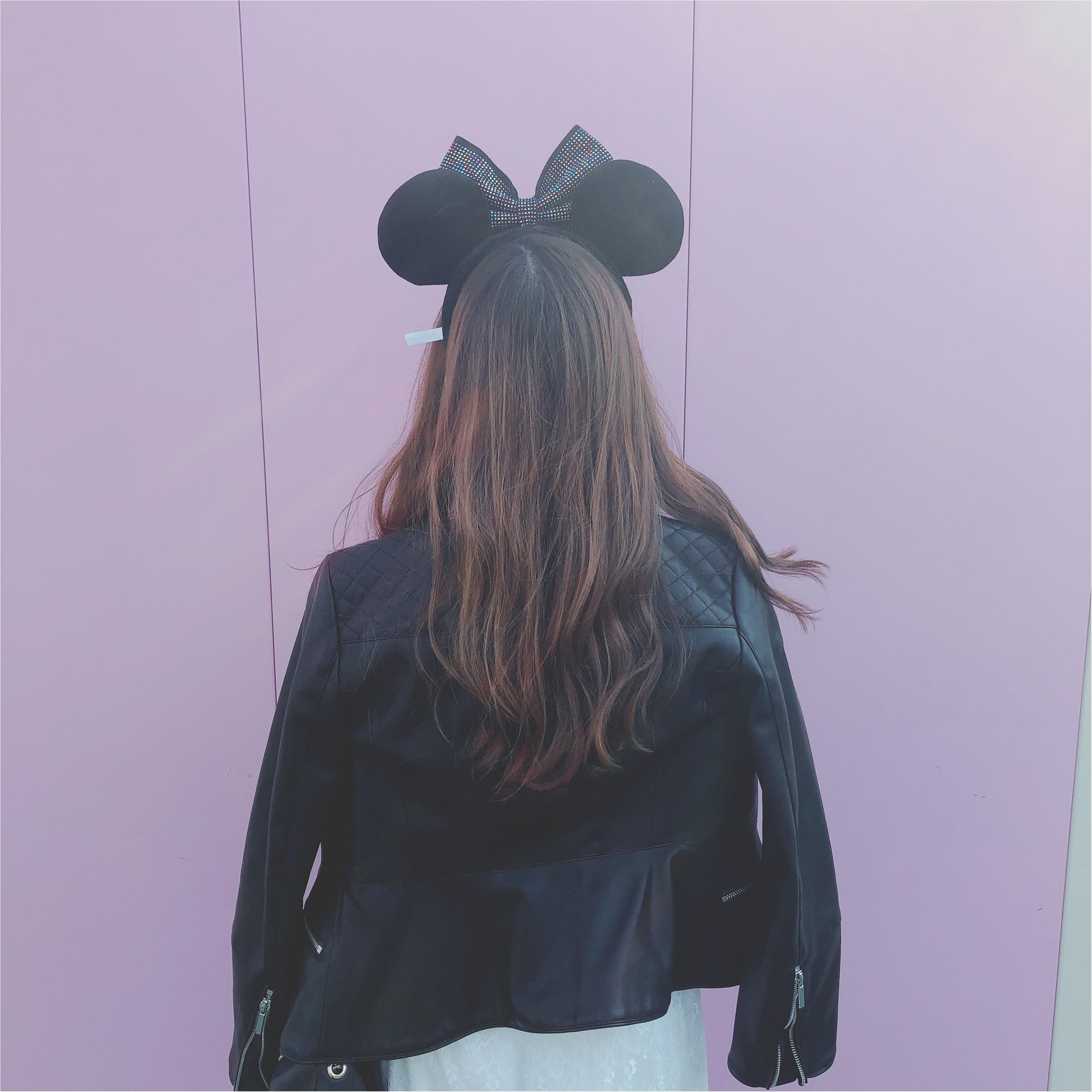 【Disney land】フォトスポットがいっぱい♡♡色々撮ってきました〜♡撮った写真を可愛く加工しましょ〜〜★★!加工アプリもご紹介♥︎_1