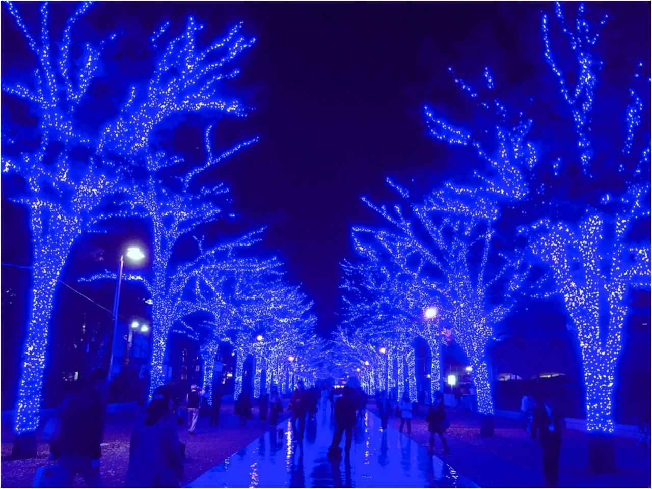 あの『青の洞窟』が渋谷に帰ってきた♡一面ブルーのイルミネーションは見逃し厳禁(*´ ˘ `*)_6