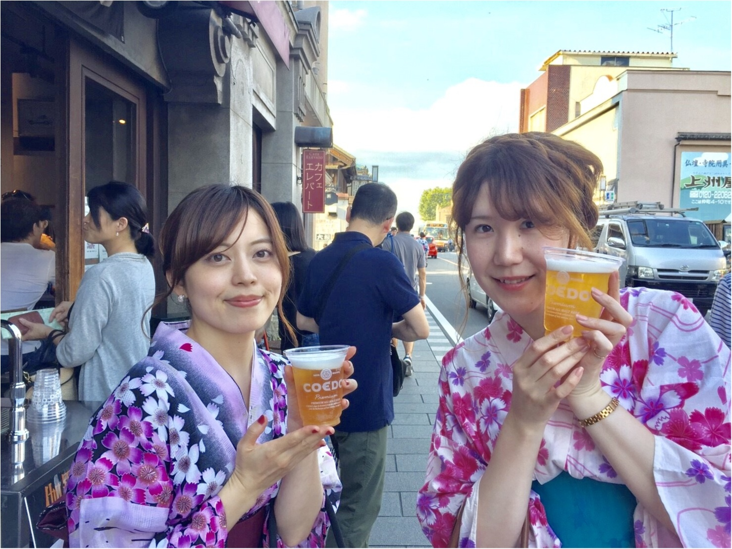 《ゆかたで散策♡》モアハピ女子会 in 川越♪_2