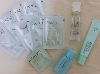 【FANCL】1000円!アクネケア1ケ月トライアルキットを試してみた♡