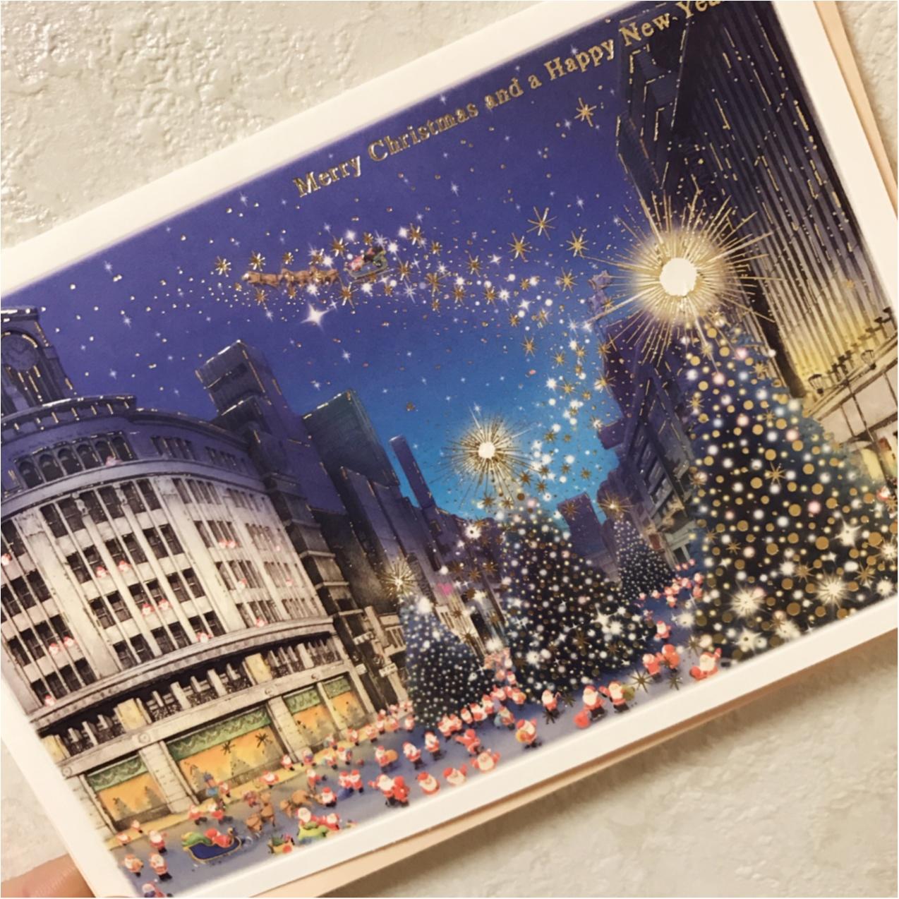 《Xmasプレゼントに添えて♡》 日本を旅するサンタさんが可愛いクリスマスカード❤︎_4