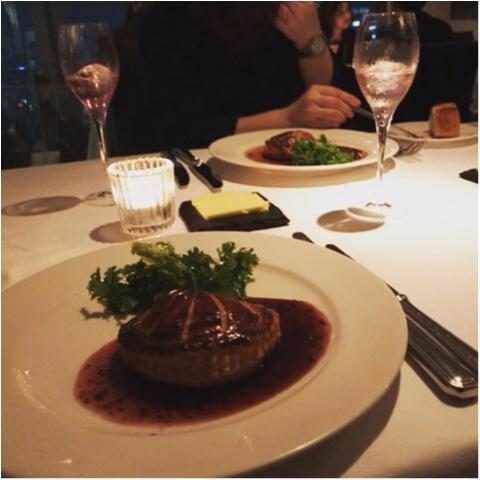 【AUXAMIS TOKYO】東京駅丸ビル35階絶景のフレンチレストランで誕生日ディナー♡_7