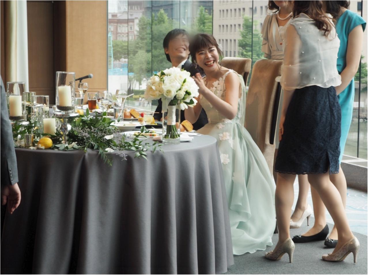 【パレスホテル東京】MOREインフルエンサーNo.600 asuちゃんの素敵な結婚式❤︎_9