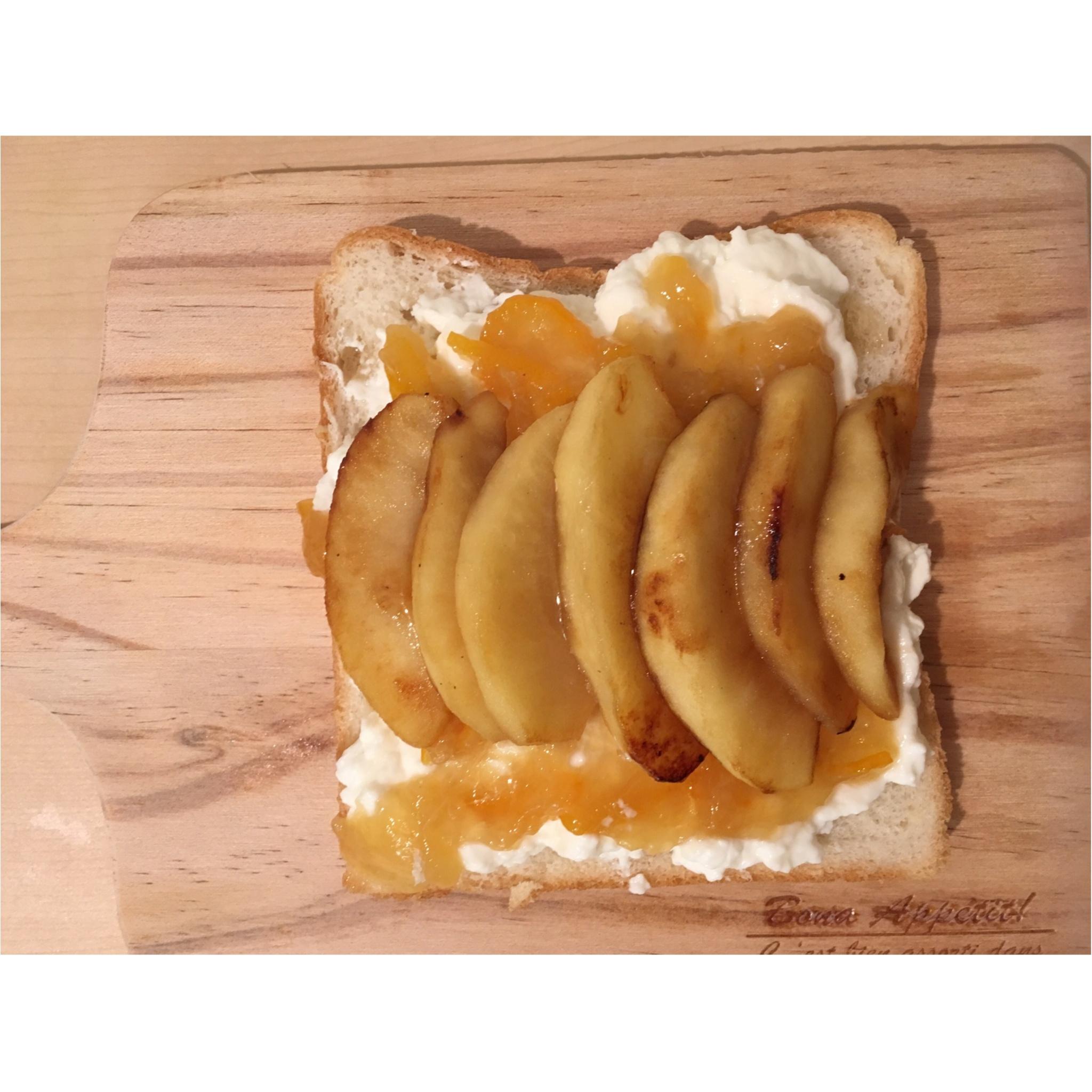 【女子力UP】見た目もかわいく♡朝から気分もあがる朝ごパンはいかがですか?☺︎-はる飯-_4