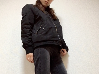 動きやすさ重視の【ブラックコーデ】全身プチプラ♡