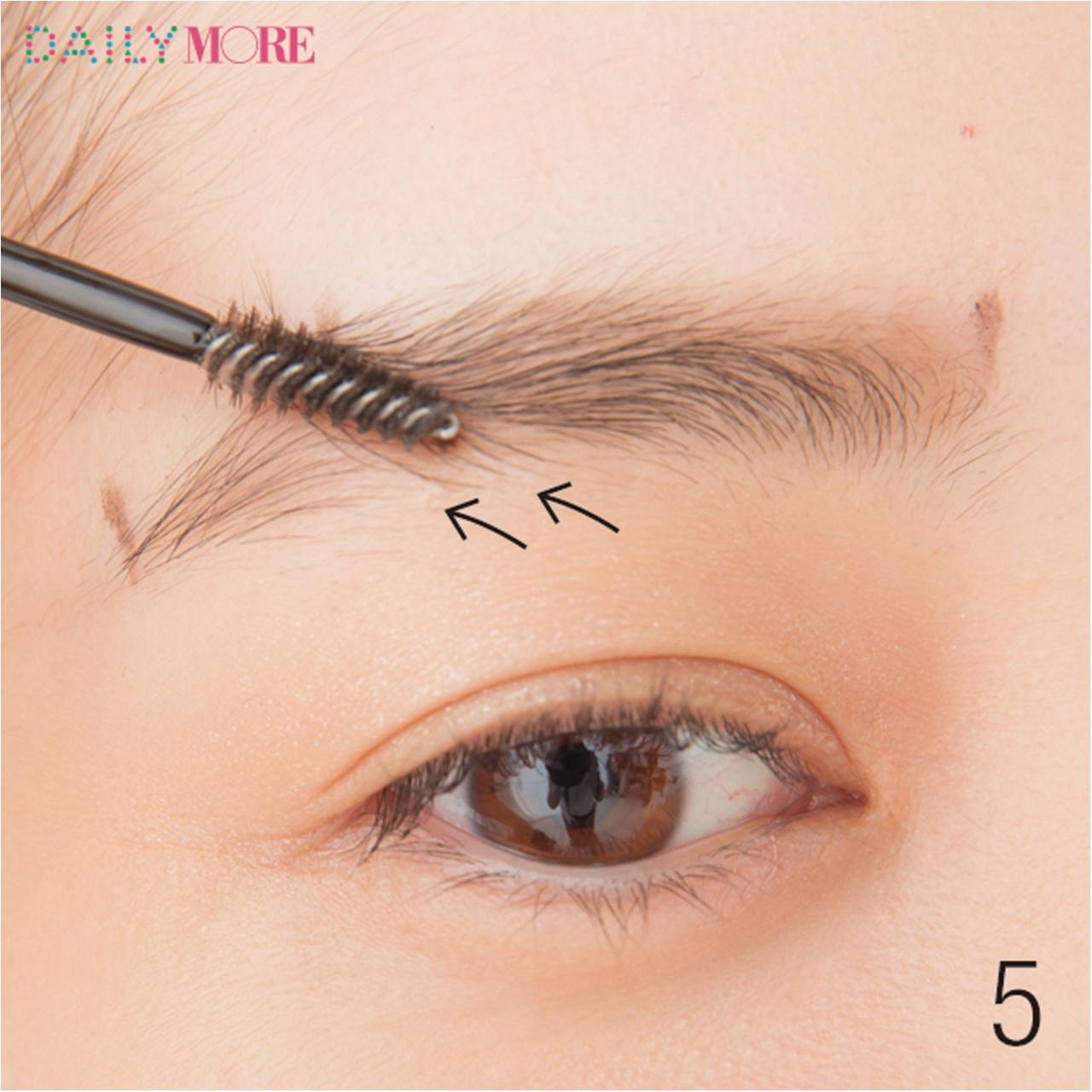 平行眉メイク特集 - 眉毛の形の整え方、描き方のポイントまとめ_7