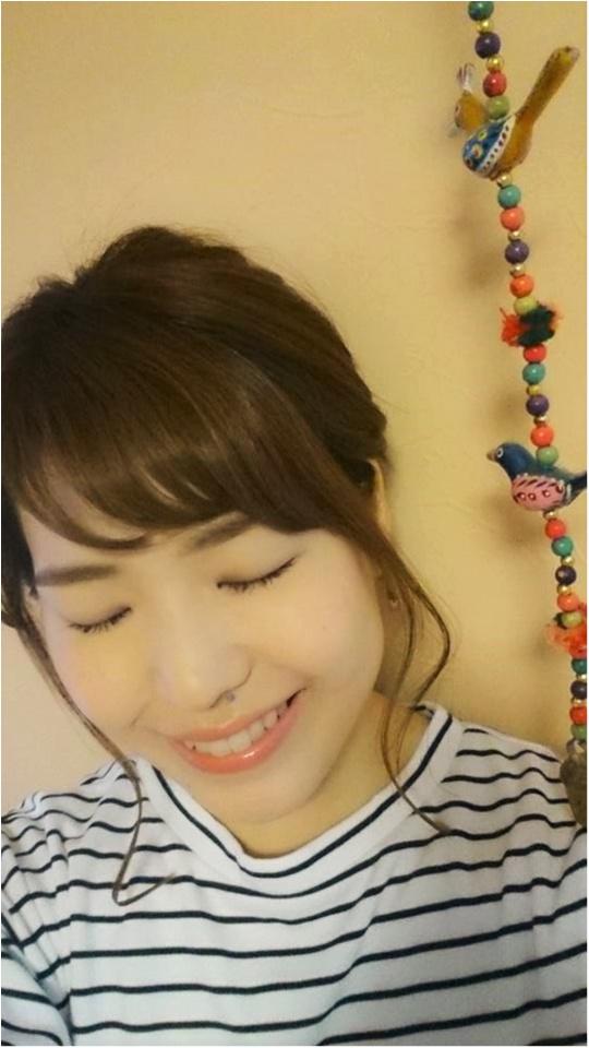 →【hairスタイル♡】トップふんわりポニーの作り方!_1