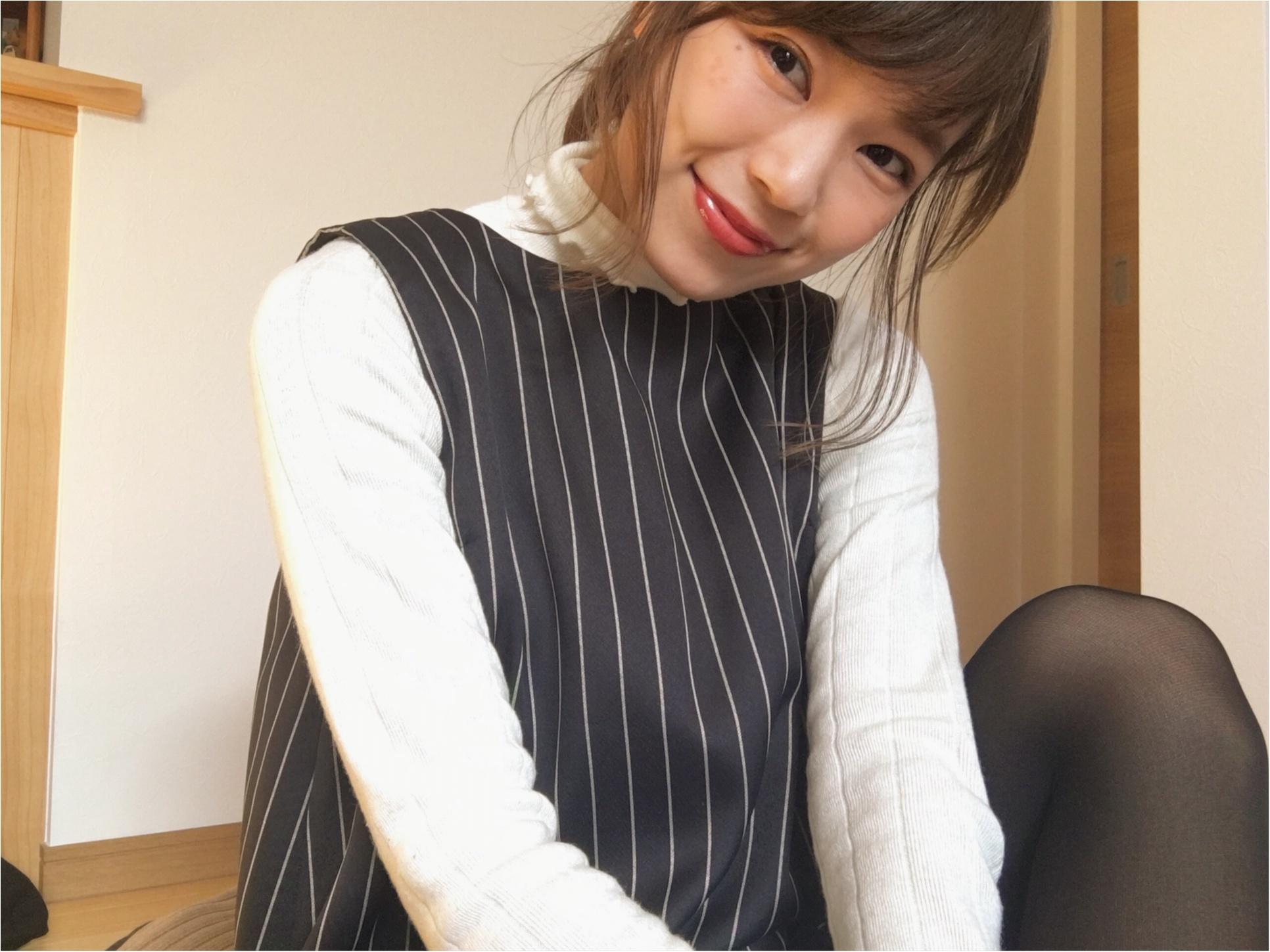 ★【DHOLIC】ハイネックリブTシャツをON・OFFで着回し!コーデ2パターンご紹介❤️_5