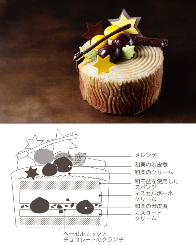 秘密の断面図を公開♡ 『横浜ベイシェラトン』のクリスマスケーキ、中身はこんな感じ!【12/18(月)まで予約受付中】_1_3