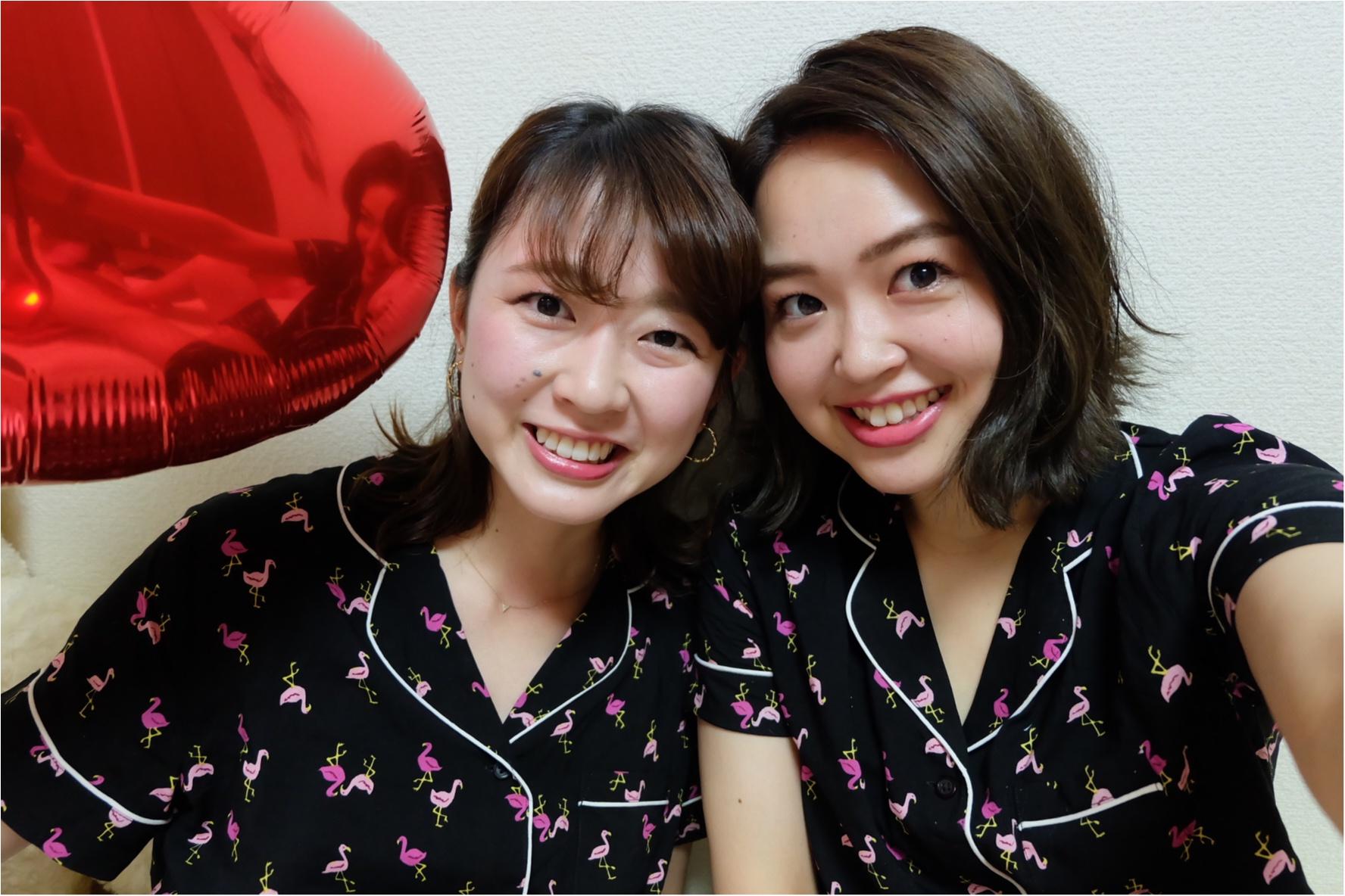 インスタ映えする《GUパジャマ》で可愛い女子会しちゃおう♡_3