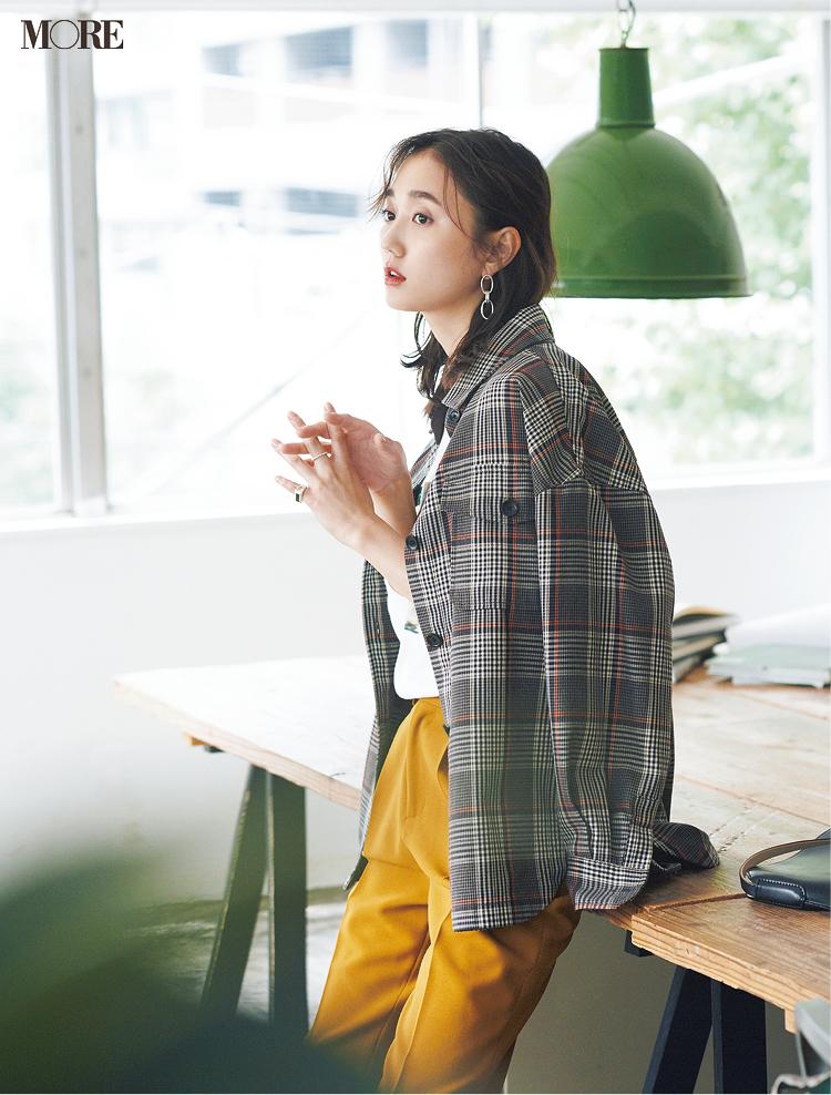 ジャケットコーデ特集《2019秋》- トレンドのブラウンやチェック柄など、20代におすすめのレディースコーデ_10