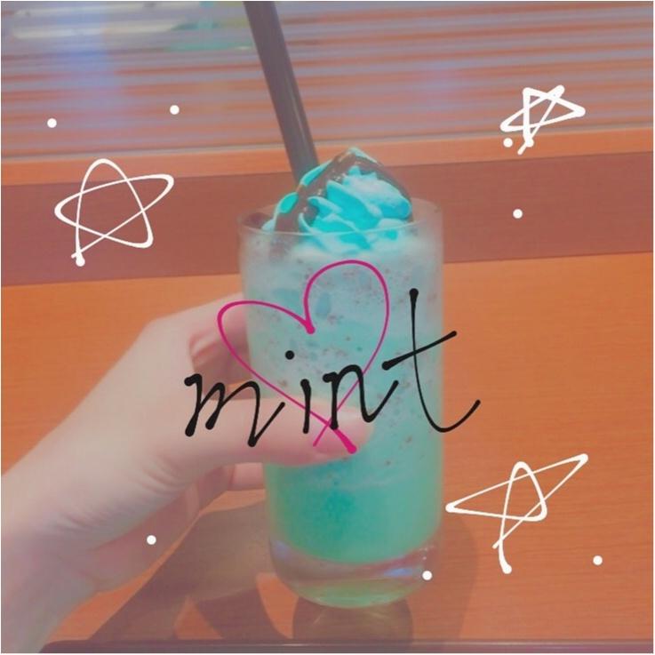 夏に甘くてクールな飲み物《ソルベージュ ミントチョコ》6/21新発売!❁こちらのカフェで飲みました♥︎_1