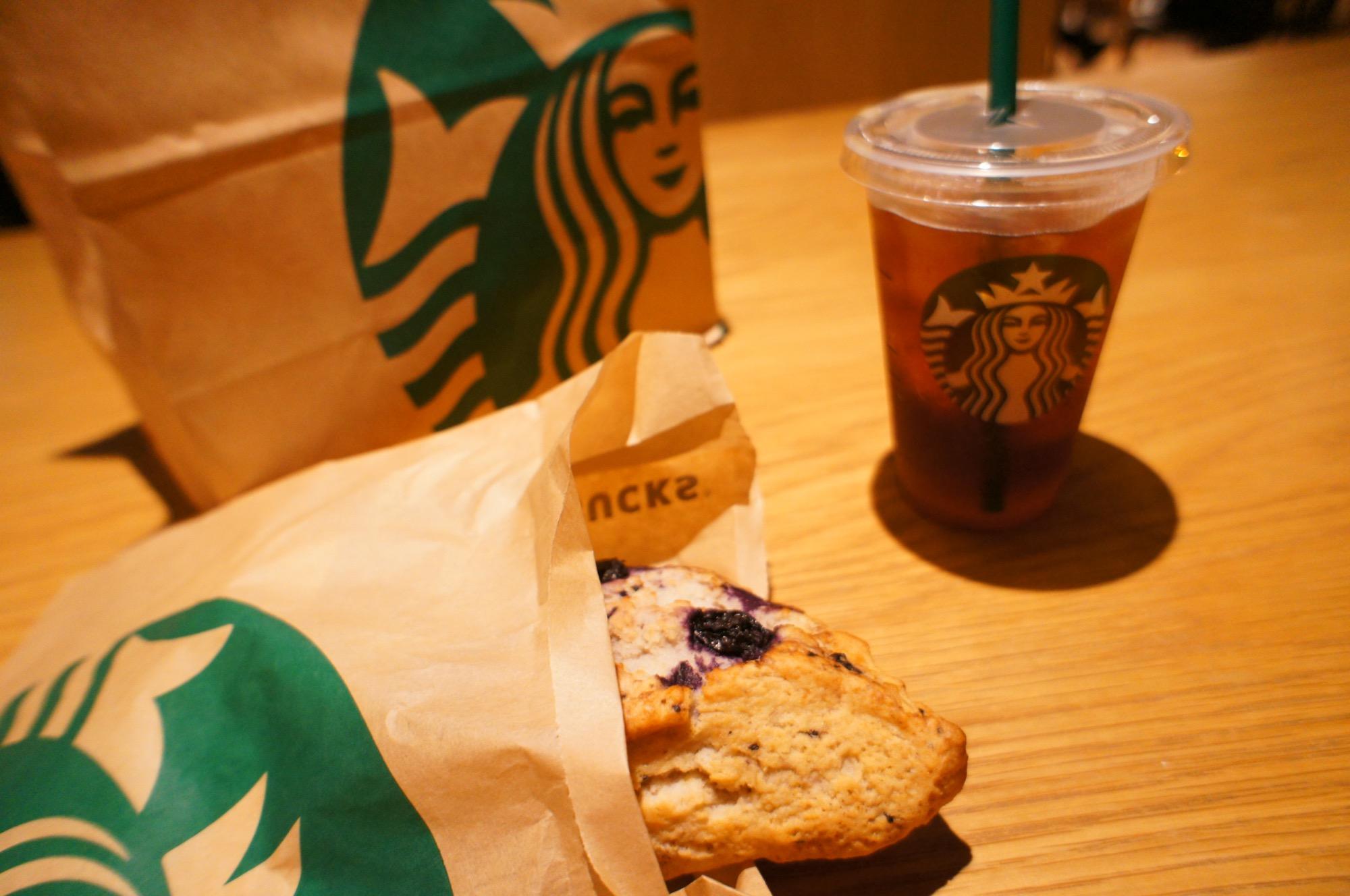 《レジ横foodに注目❤️》【スタバ】アメリカンスコーン ブルーベリーが美味しい☻!_3