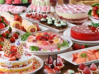 """毎年3万人が来場する『グランドプリンスホテル広島』のいちごブッフェ、今年のテーマは""""Strawberry Island""""♡ 【 #いちご 6】"""