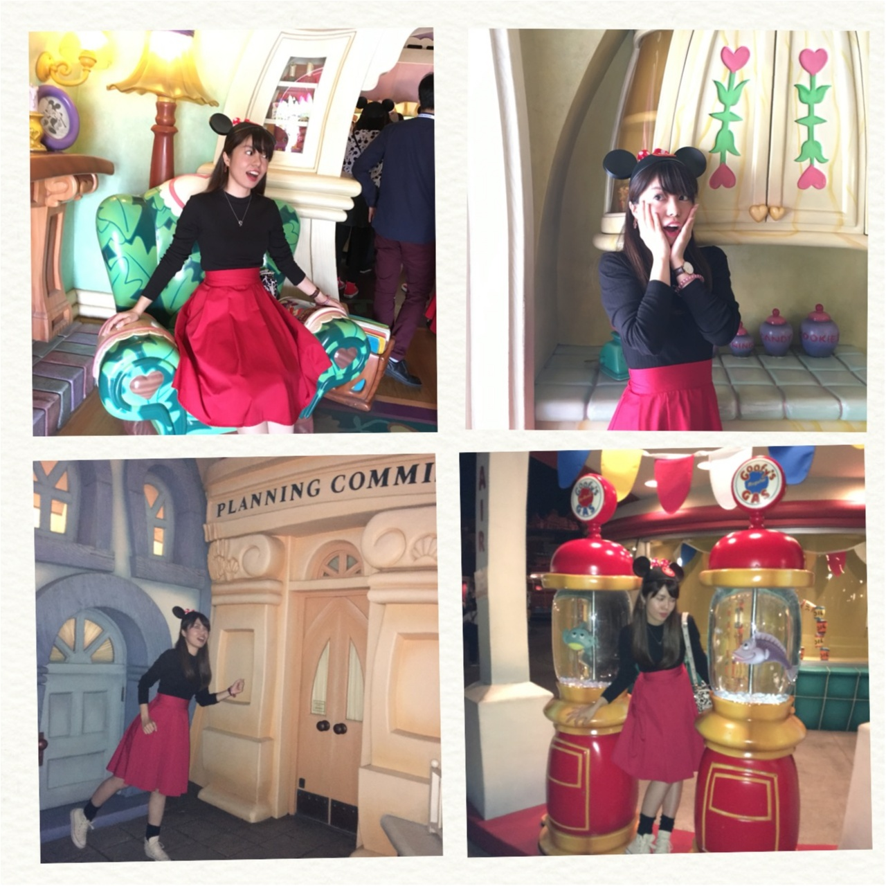 プチプラ&カンタンに仮装はできる!ミニー風コーデで週末はハロウィーンイベントを楽しもう♡_4