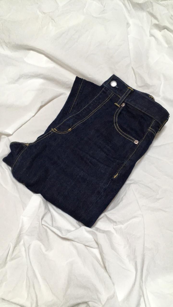 【GU】神デニム♡ハイウエストストレートジーンズをやっと購入!_2