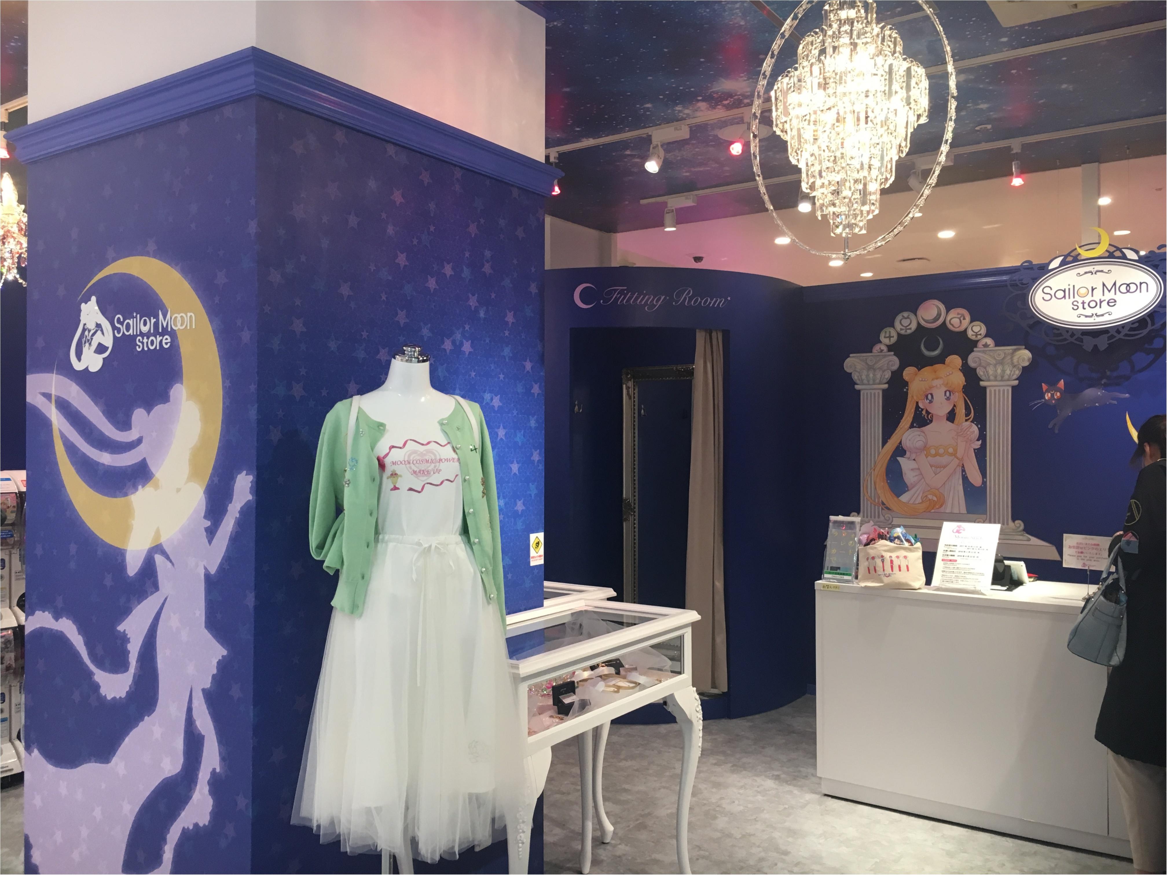 【セーラームーン25周年】世界初のオフィシャルストア誕生!『Sailor Moon store』に行ってみた!_3