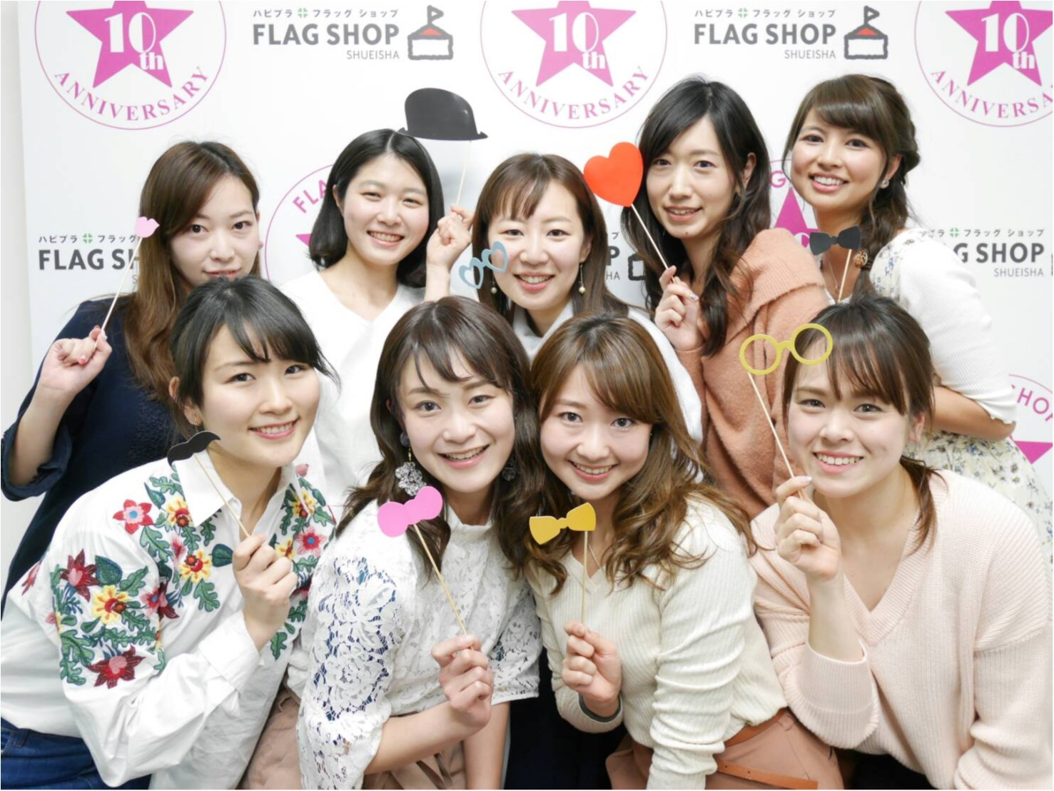 FLAG SHOP 10th ANNIVERSARY!「フラワーデイズ展示会&佐藤ありさ×MORE編集部トークショー」に行ってきました_1