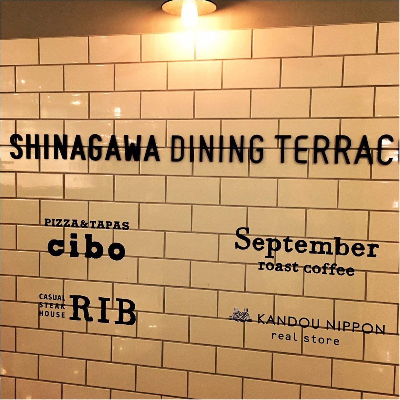 デートでも♡女子会でも行きたい!【SHINAGAWA DINING TERRACE】_2