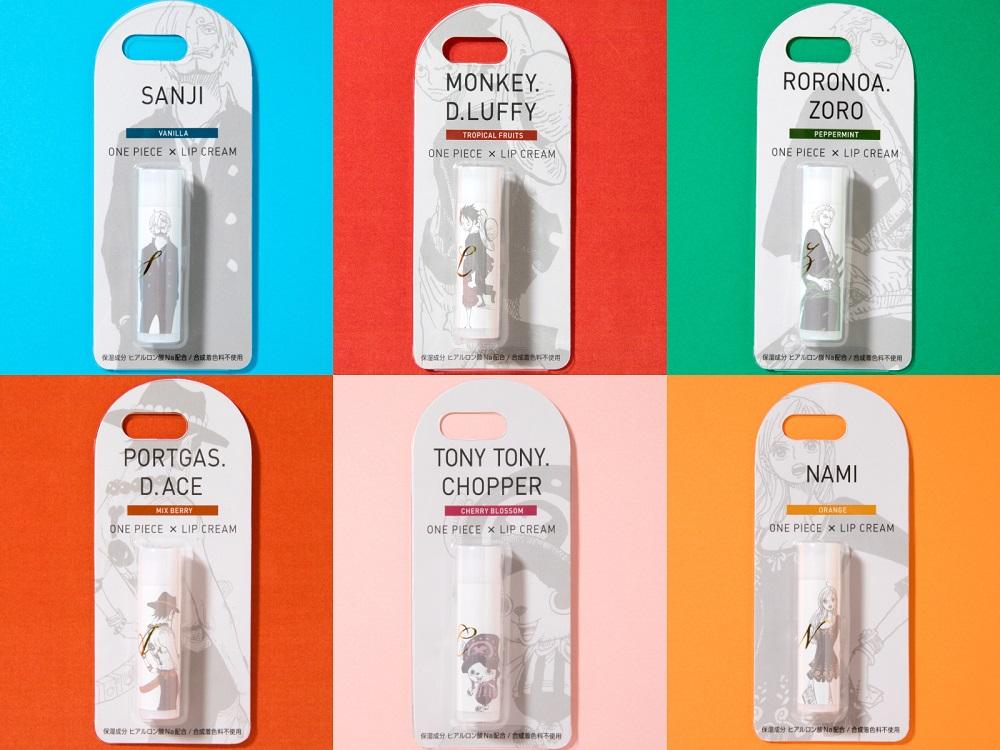 大人気マンガ『ONE PIECE』のリップクリームを全種類集めたい!! キャラクターごとに異なる香りにもうっとり♡_1