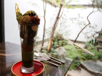 【京都】1日10食限定!ボリューム満点!抹茶パフェ♡
