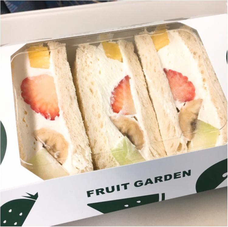 【出張グルメ】ジューシーなフルーツにふわっふわのクリームに癒される♡ 新大阪駅ナカで買える!『山口果物』の絶品フルーツサンド♡_1