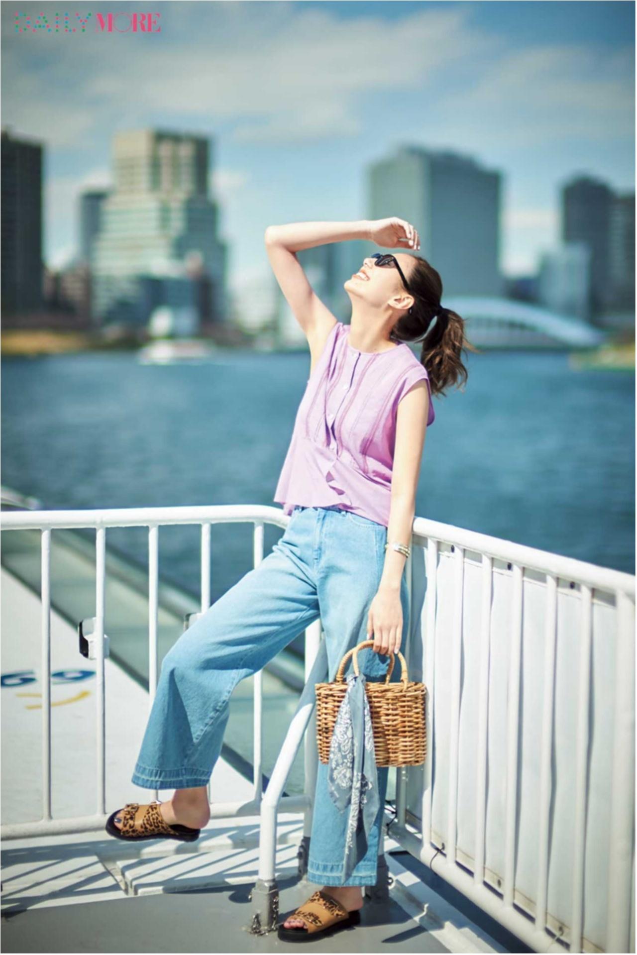 暑い日こそ元気にね♪ 気分が上がる「夏のきれい色」コーデまとめ♡_1_13