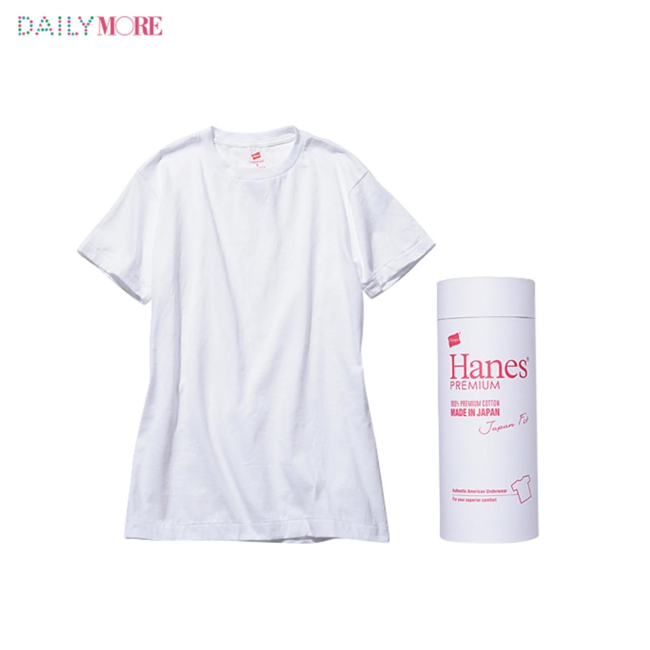 【4つのパックTを、ちくちく比べてみた!】おしゃれな人の溺愛白Tシャツ「ヘインズ」大解剖!_2_3
