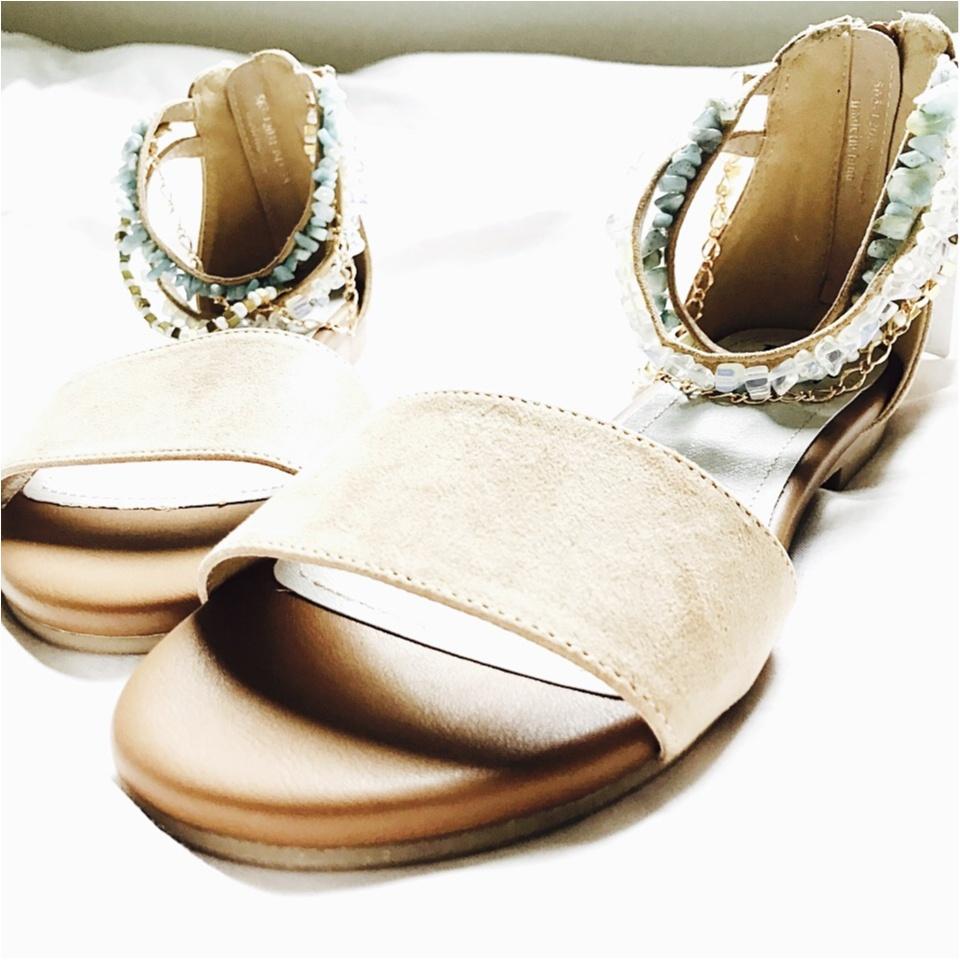…ஐ 【summer shoes】5,000円以内プチプラサンダル♡ 私は流行りの\天然石/でサマーファッションを早く楽しみたい⠒̫⃝♡  ஐ¨_4