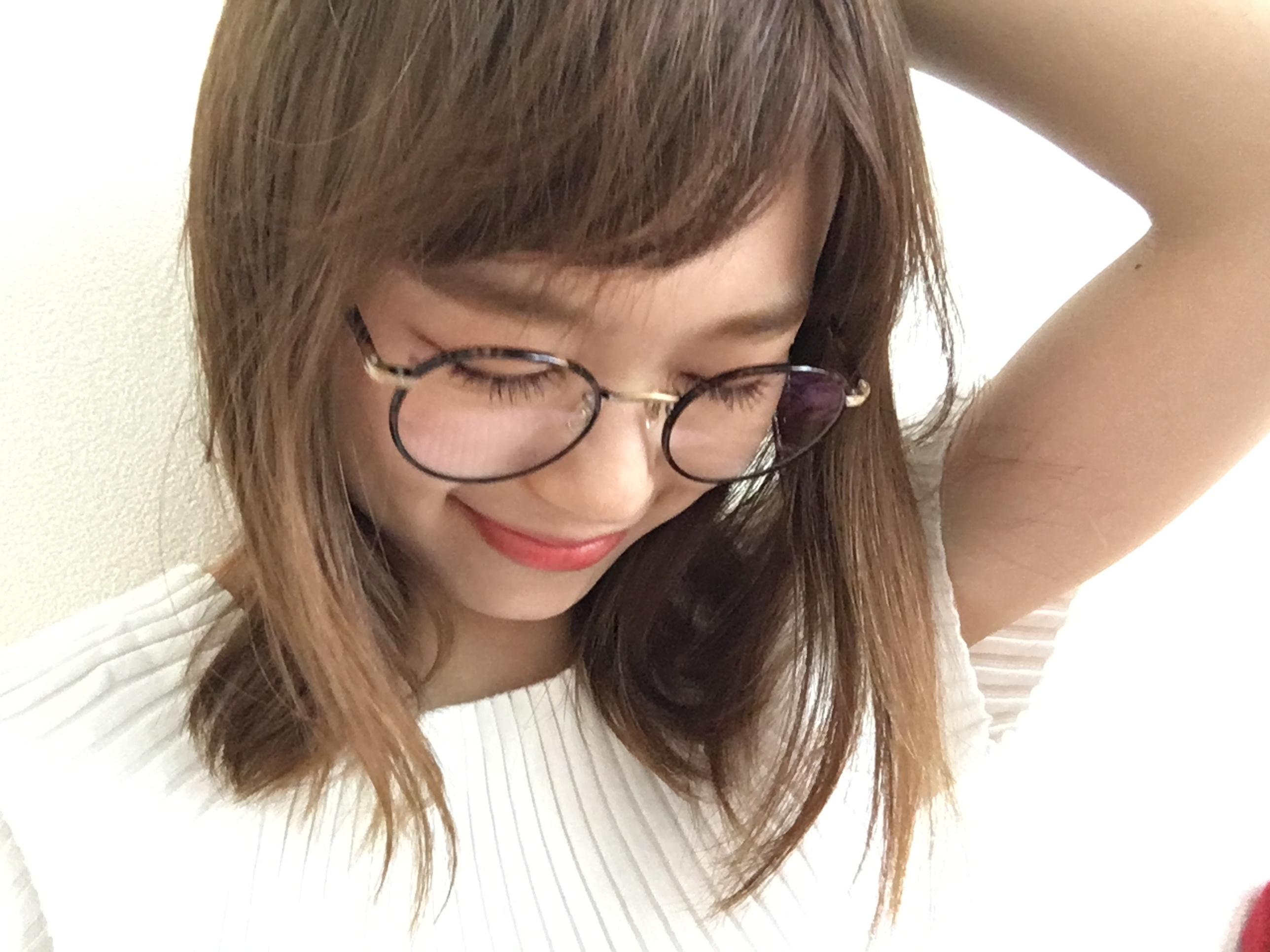 ★GLCOのメガネでイメチェン計画!UVカット効果のあるレンズで夏仕様に^^_2