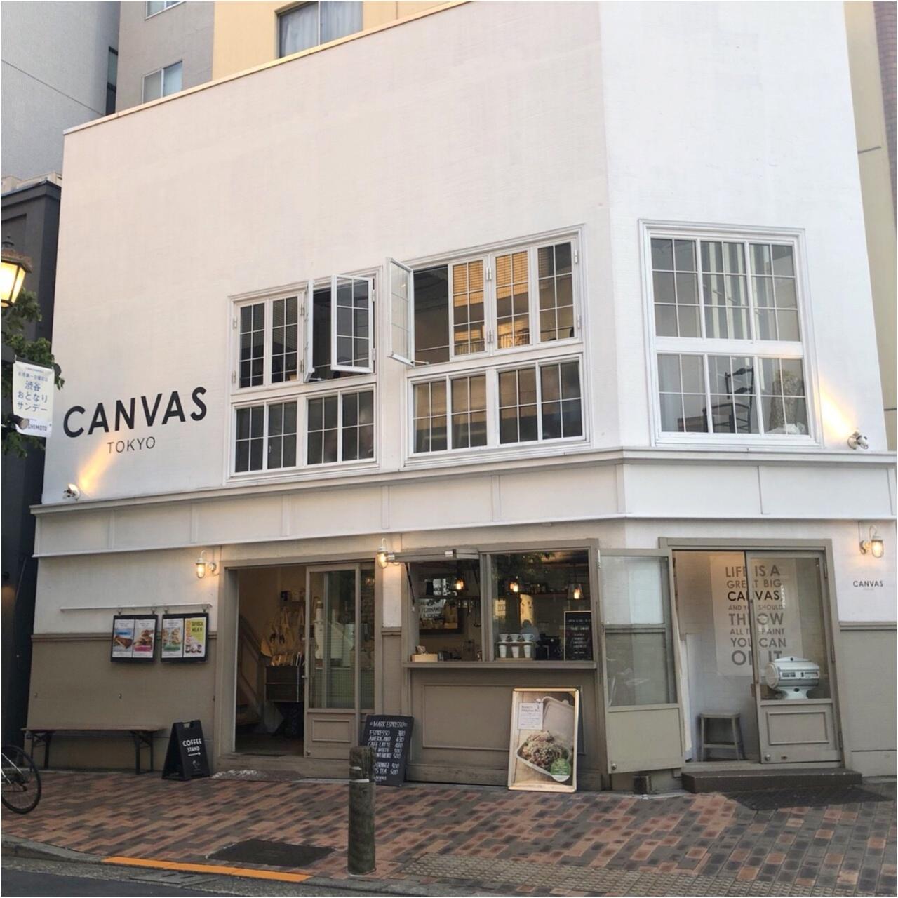 【CANVAS  TOKYO】広尾のおしゃれカフェ♡_1