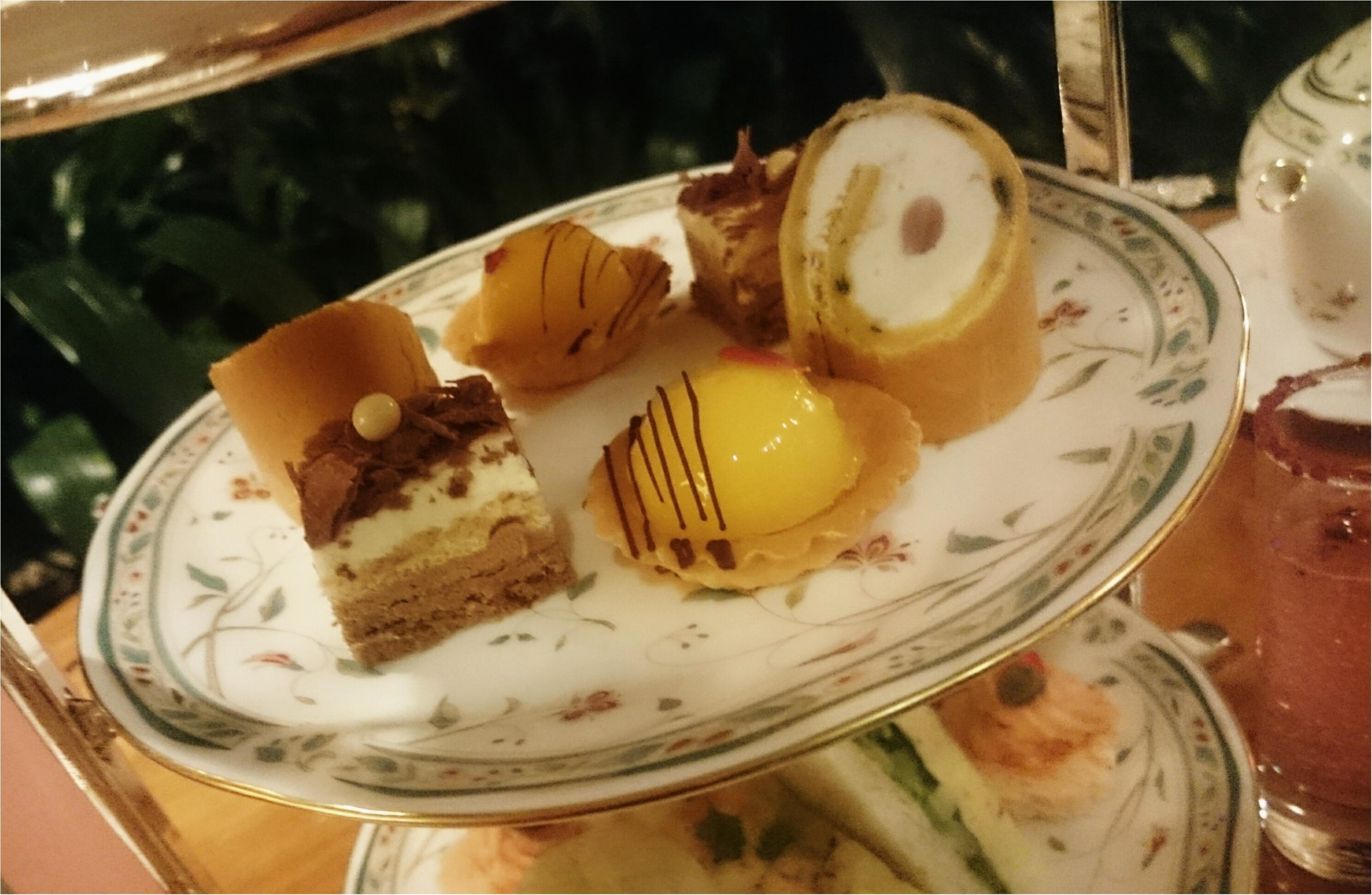 今日からはじまった「ホテル椿山荘東京」の桜イブニングキュートティーへ行ってきました♥_17