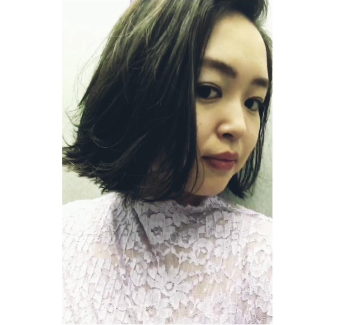 さらに髪を切りました✂︎青山の美容師さんイチオシの今夏トレンドカラー♡_2