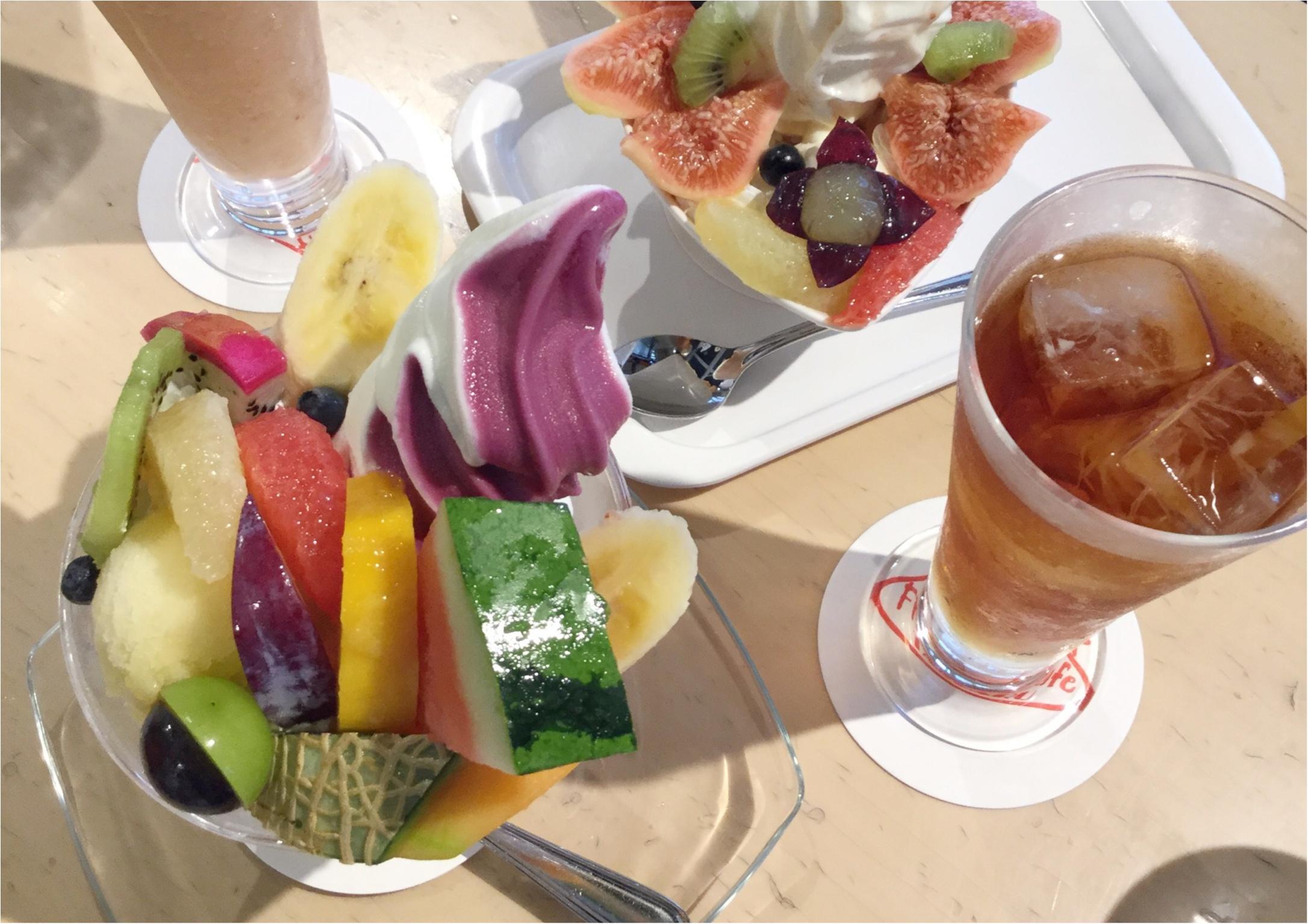 【ご当地スイーツ】広島に来たらやっぱり立ち寄りたい《Fruit Cafe TAMARU(タマル)》名物パフェ&季節限定いちじくパフェを召し上がれ♡_2