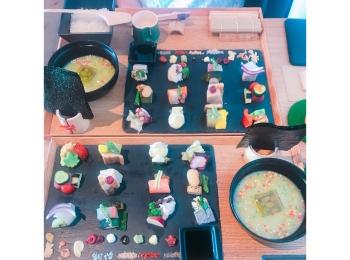 《京都》可愛すぎる❤︎心もお腹も満たされる【手織り寿し】❤︎❤︎