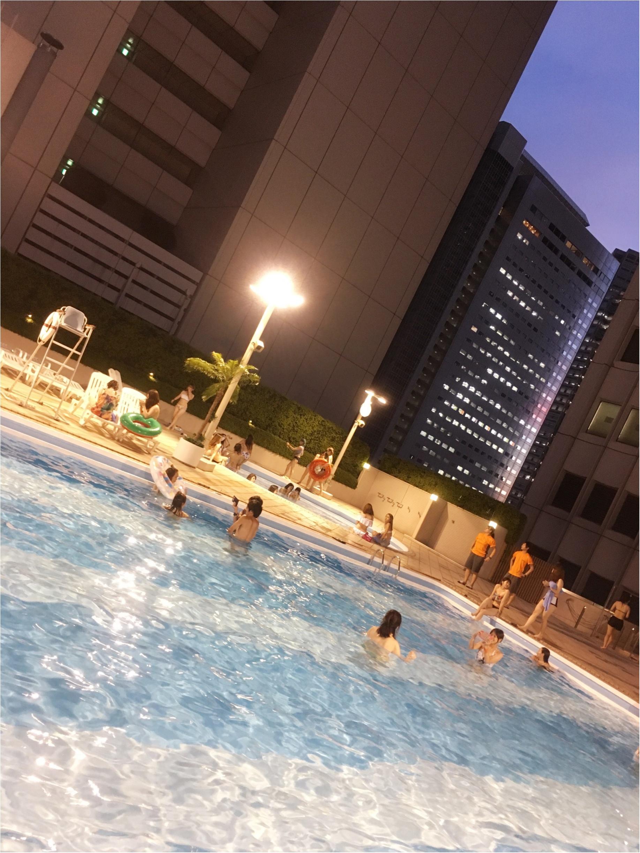 写真たくさん♡京王プラザホテルのプリンセスマーメイドプランで素敵なナイトプールタイムを♡_7