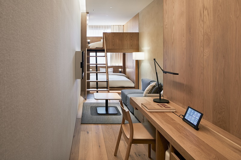 『MUJI HOTEL GINZA』の9タイプの客室、全部見せます♡ 家具からベッド、食器まで。無印良品の名品が使える試せる買える「無印良品 銀座」!_4_7