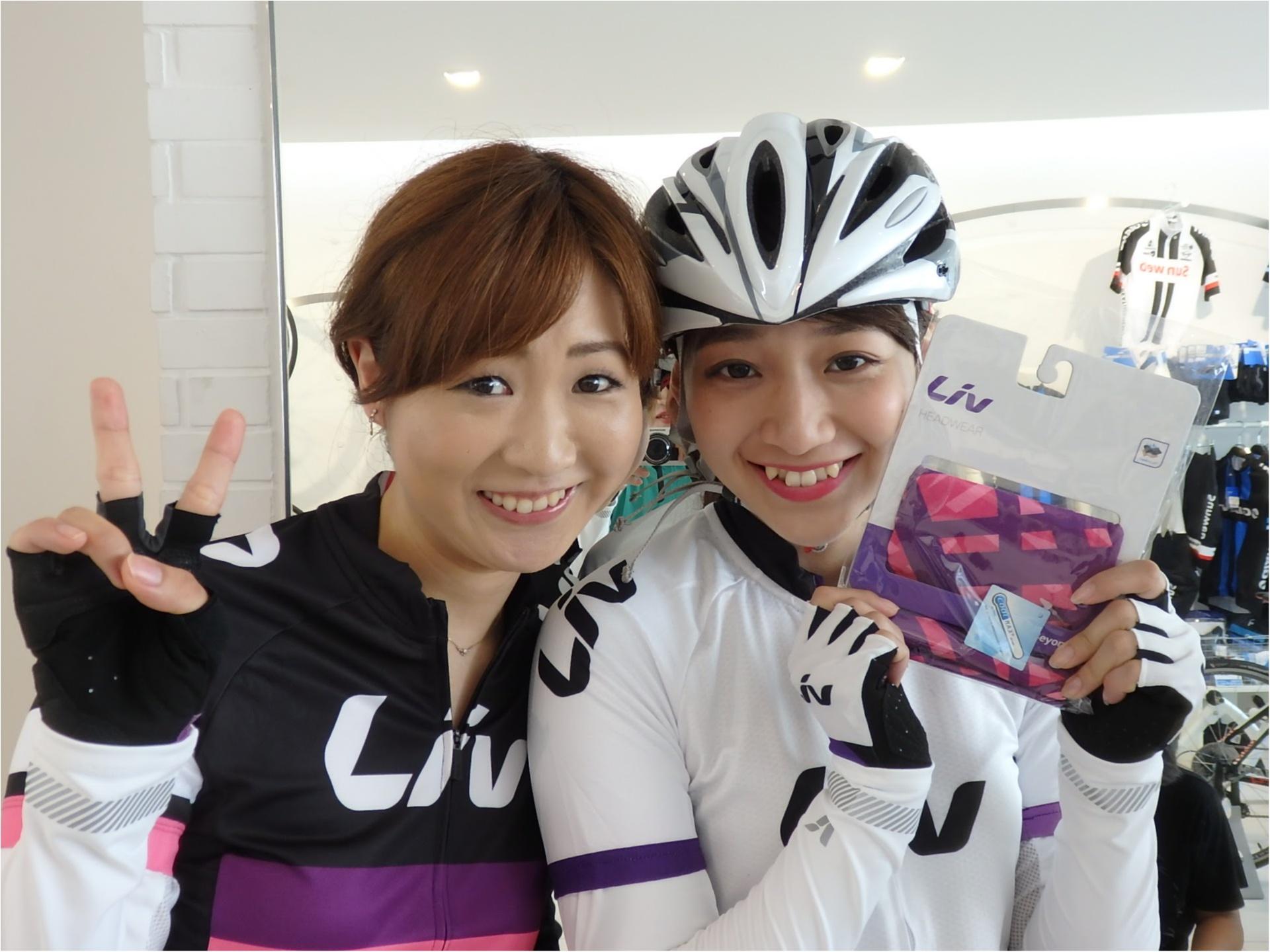初ロードバイク!!『 ツール・ド・東北』三人娘、全員で練習スタート♪まずは室内練習から!【#モアチャレ あかね】_5