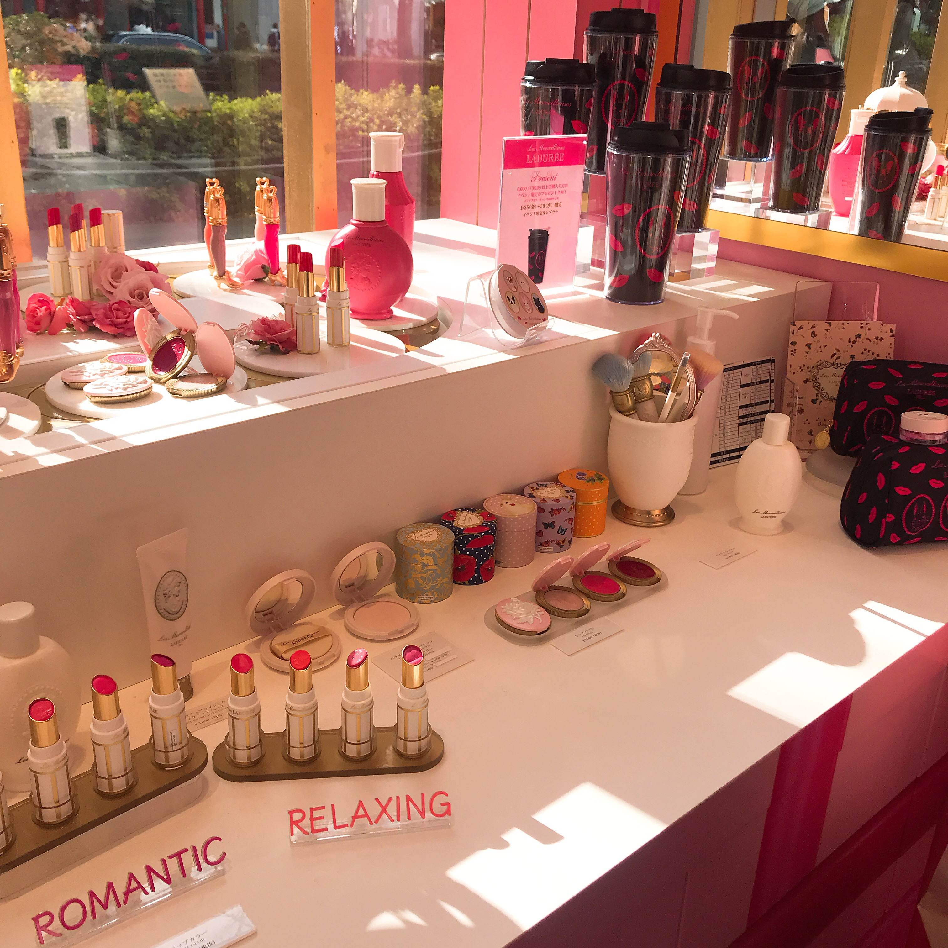 【東京】My Pink! レ・メルヴェイユーズ ラデュレ のPOPUPSHOP【表参道ヒルズ】_4