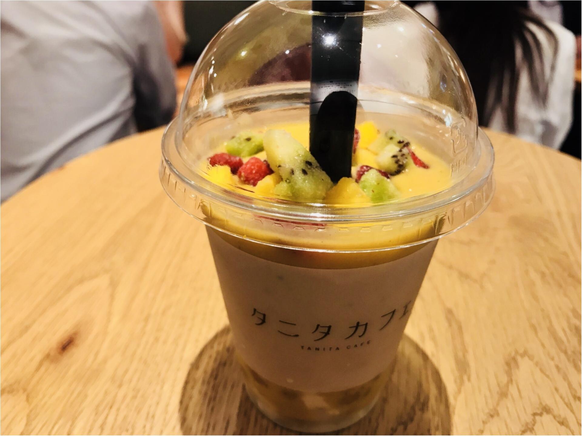 """【タニタカフェ】ダイエットの強い味方!""""噛む""""スムージー《カムージー》って?_2"""